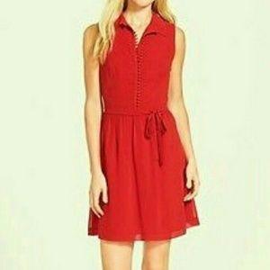 Kensie Red A-line Dress NWT